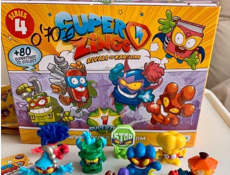 superzings juguete estrella